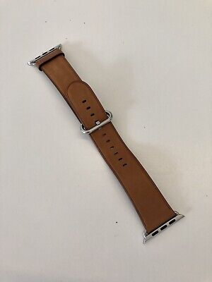 AU11.50 • Buy Authentic 42mm Leather Apple Watch Band