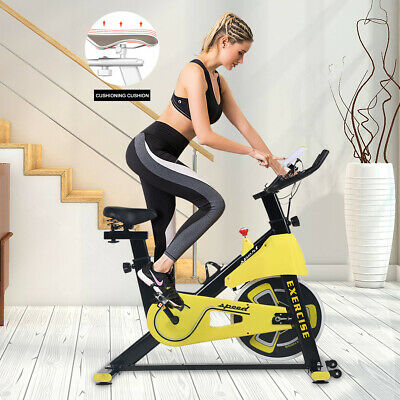 Spinning Bike Home Cardio Exercise Spin Fitness Training Indoor Aerobic Machine • 199.99£