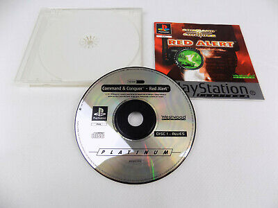 AU29.90 • Buy Mint Disc Playstation 1 Ps1 Command & Conquer Red Alert Disc And Manual
