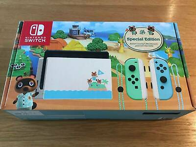AU500 • Buy Nintendo Switch - Animal Crossing Special Edition Console - Brand New