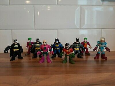 Imaginext Figures DC Figures Multiple 3 Inch Used In Good Condition. • 3£
