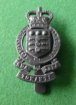 British Army Blackened Cap Badge, Royal Army Ordnance Corps RAOC • 4.99£