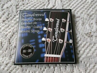 $ CDN11.31 • Buy (01) Set  Tanglewood  Acoustic Phosphor Bronze Guitar Fibrefex Coated .11/52