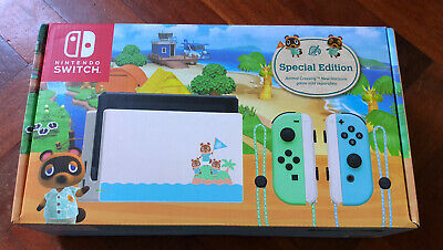 AU530 • Buy Nintendo Switch Console - Animal Crossing New Horizons Edition (FREE COURER)
