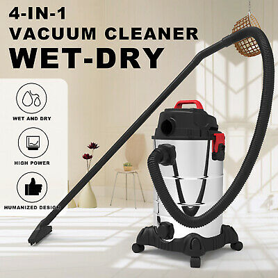 AU109.90 • Buy 4in1 Wet Dry Vacuum Cleaner 30L Commercial  Industrial 2000W Home Blower Bagless