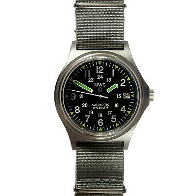 MWC G10 1224 Ltd Ed Brushed SS Automatic Sapphire Watch 300M NEW Boxed UK Seller • 235£