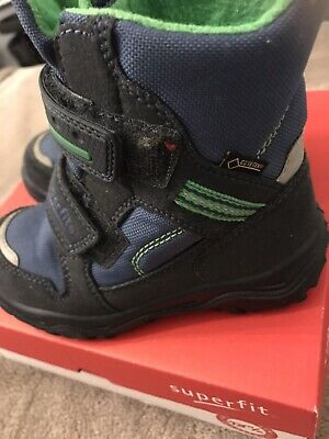 Superfit Goretex Childs Boots Blue Size 27 Size Uk 9 Immaculate Condition £55 • 29.99£