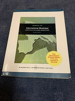 £10 • Buy International Business By Charles W. L. Hill (Paperback, 2008)