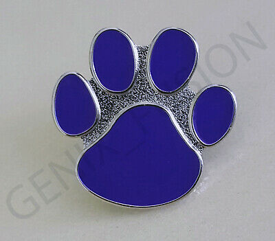 2020 Animals In War Poppy Purple Paw Remembrance Cat Dog Metal Pin Badge • 3.29£