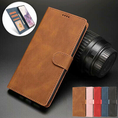 AU13.99 • Buy For Samsung Note20 S20 Ultra S10 S9 S8 Plus Case Leather Wallet Stand Card Cover