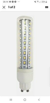 TP24 Tp8600 Tube Lamp 3.5W LED L1/GU10 Clear Glass Warm White • 6£