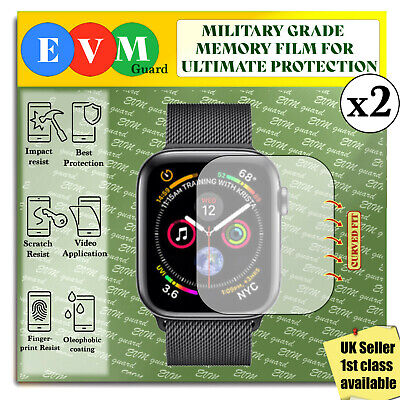 $ CDN5.74 • Buy Screen Protector For Apple Watch Series 4 X2 44mm TPU Hydrogel FILM Cover