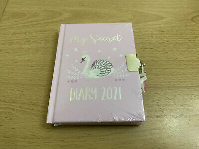 Girl's My Secret Diary 2021 Lockable With Lock And 2 Keys New • 3.75£