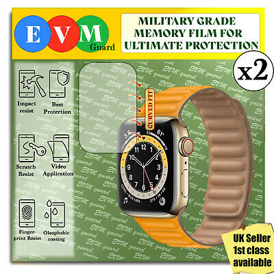 $ CDN5.10 • Buy Screen Protector For Apple Watch Series 6 44mm X2 TPU Hydrogel FILM Cover