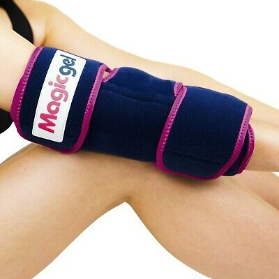 Elbow Ice Pack With Professional Wrap - Compression & Cold Therapy - Reduces Swe • 19.99£