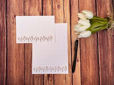£4.50 • Buy Daisies Writing Paper And Envelopes, 10 Sheets & 5 Envelopes, Letter Set