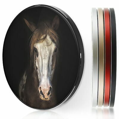 AU44.12 • Buy QI Wireless Charger For Apple Iphone 11/XS/8/Samsung S10/S9 - White Faced Horse