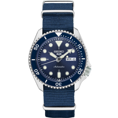 $ CDN276.20 • Buy  Seiko 5 Blue Dial SRPD87 Automatic Nylon Strap Watch