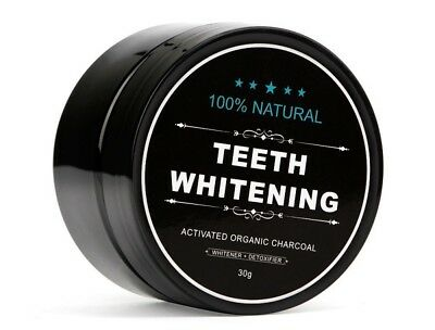 AU6.41 • Buy Teeth Whitening Powder Organic Activated Charcoal Natural Food Grade Whitening