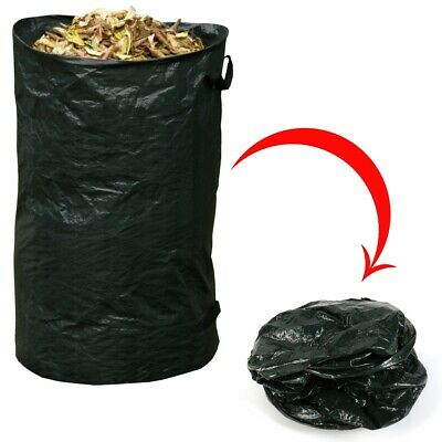 £4.75 • Buy 120L POP UP GARDEN REFUSE BAG Carry Handles Gardening Grass Plant Clippings Sack