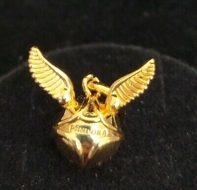 Pandora SHINE Charm Bead 368618C00 Harry Potter Golden Snitch Pendant ALE • 14.99£