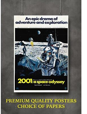 £3.60 • Buy 2001 A Space Odyssey Classic Movie Large Poster Art Print Gift A0 A1 A2 A3 Maxi