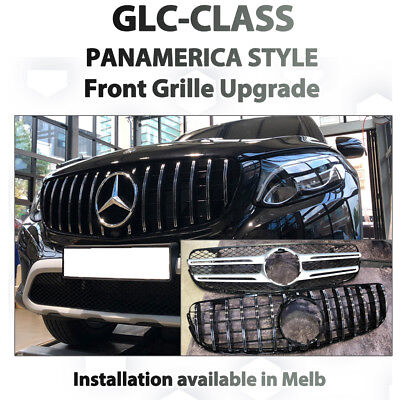 AU579 • Buy Mercedes Benz GLC Class Panamerica Style Grille From AMG GT 63 Front Grille