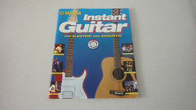 Yamaha  Instant Guitar  (Electric & Acoustic) With CD--2004. • 5.50£