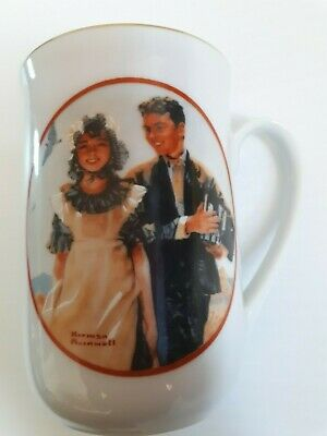 $ CDN25 • Buy Friends By Norman Rockwell Coffee Mugs Cups Decorative Collectibles