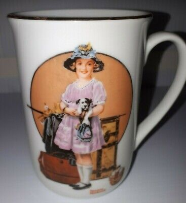 $ CDN25 • Buy Vacation Sover By Norman Rockwell Coffee Mugs Cups Decorative Collectibles