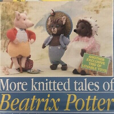 Alan Dart Beatrix Potter Toy Knitting Pattern • 45£