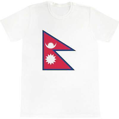 'Nepal Flag' Men's / Women's Cotton T-Shirts (TA023066) • 12.99£