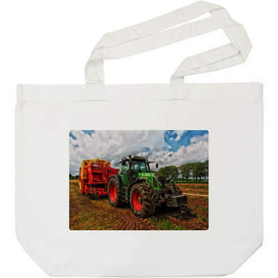 AU23.38 • Buy 'Tractor' Tote Shopping Bag For Life (BG00003260)