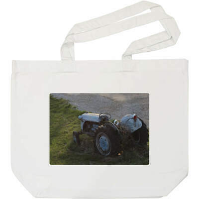 AU23.38 • Buy 'Old Tractor' Tote Shopping Bag For Life (BG00003649)