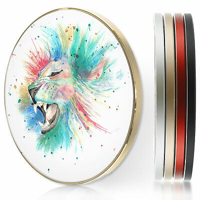 AU44.12 • Buy QI Wireless Fast Charger For Apple Iphone 11/XS/8/Samsung S10/S9-Rainbow Lion