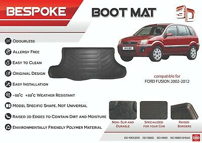 FITS FORD FUSION 2002-2012 Tailored Rubber Boot Liner Fitted Mat Dog Tray  • 18.99£