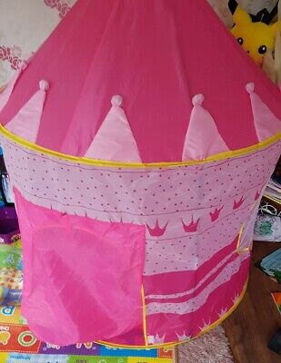 £10 • Buy Kids Princess Castle Tent Indoor Outdoor Fun Playhouse Play Toy Child