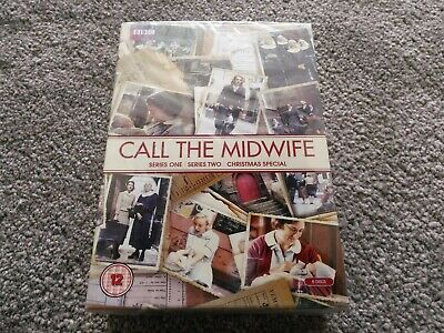 Call The Midwife - Series 1, 2 & Christmas Special (6 Disc DVD Set) NEW & SEALED • 5.50£