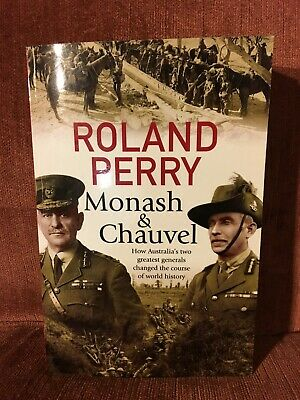AU17.95 • Buy Monash & Chauvel By Roland Perry (Paperback)