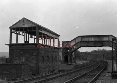 £3 • Buy Photo  Former L & Nwr Rhymney Bridge Signal Box From A Front View That Includes