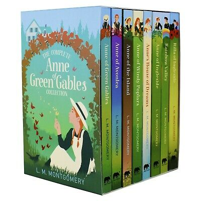 Anne Of Green Gables 8 Books Children Pack Paperback Box Set By L. M. Montgomery • 21.85£