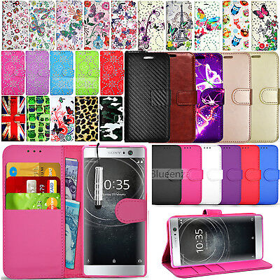 AU7.13 • Buy For Sony Xperia XA1 ULTRA XA2 Ultra Case Phone Cover Flip Leather Wallet Book