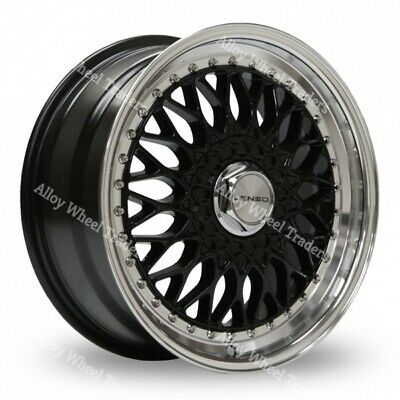 AU1135.76 • Buy 17  Black BSX Alloy Wheels Fits Rover 25 45 200 400 Streetwise MG3 4x100
