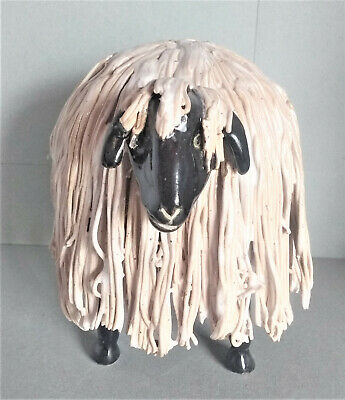 £36 • Buy Ceramic Sheep, Whimsical, Quirky, Figurine