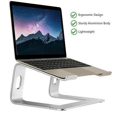 Aluminium Stand For Laptops, 10  To 15.6  For Macbook, HP, Dell *UK Seller* • 19.99£