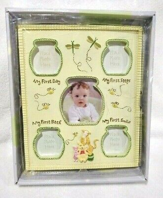 £16.29 • Buy Disney Baby Winnie The Pooh Milestone Picture Photo Frame First Day Steps Bath