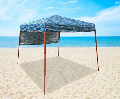 AU125 • Buy Portable Marquee Beach Camping Gazebo Tent Sun Shelter With Backpack Carry Bag