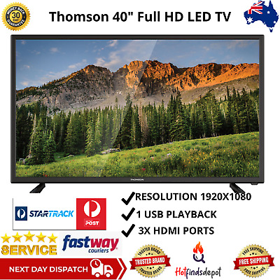 AU357.19 • Buy Thomson 40  Inch Screen Full HD LED TV 1080p Television HDMI USB Flat Panel