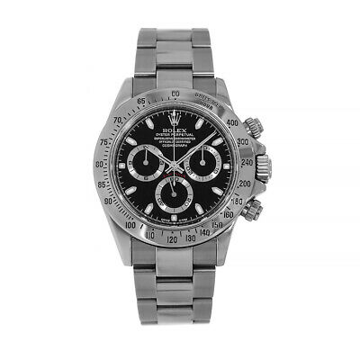 $ CDN27569 • Buy Rolex Cosmograph Daytona Stainless Steel White Index Dial Watch 116520