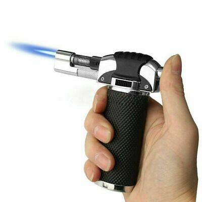 Adjustable Refillable Blow Torch Flame Kitchen Chef Cook Food Light Fire BBQ_UK • 12.99£